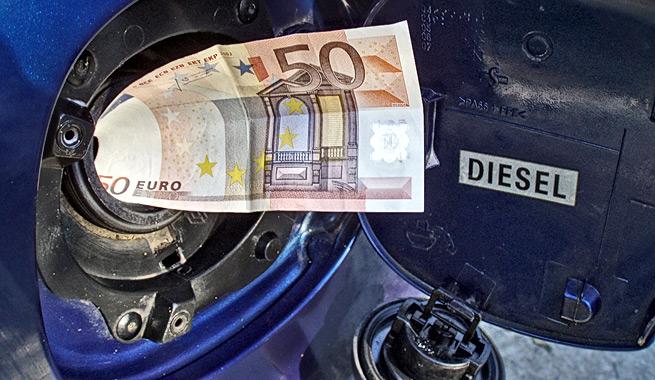 Ejemplo de ahorro de combustible al año