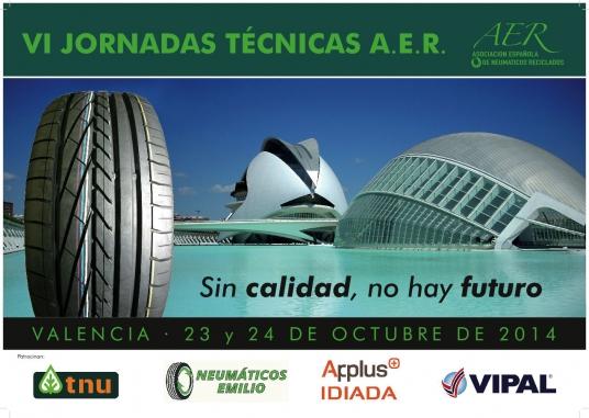 VI Jornada Técnica de la Asociación Española de Neumáticos Reciclados