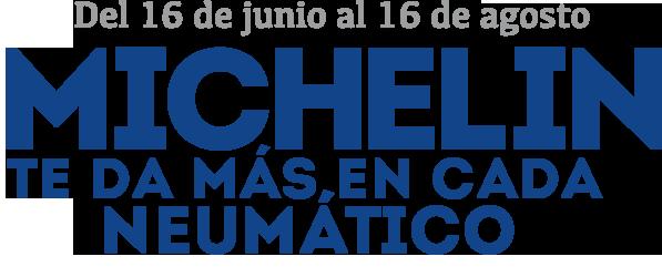 Hasta 100€ de carburante por comprar neumáticos michelín