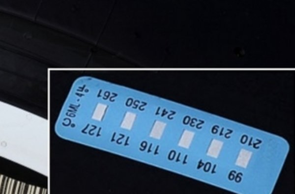 Pirelli prueba una etiqueta adhesiva que controla la temperatura de los neumáticos