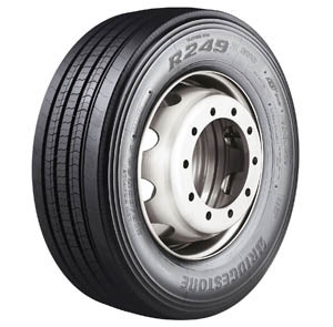 Nuevo neumático de dirección para camión
