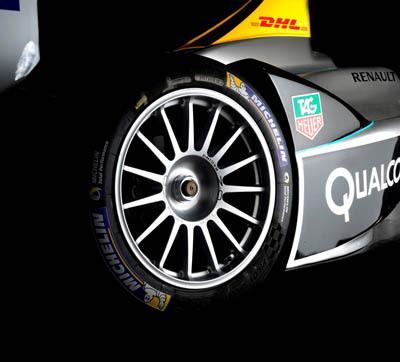 Michelin ha presentado su neumático para el Campeonato FIA de Fórmula E