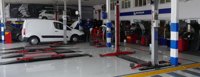 Servicio de neumáticos